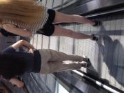 Neulich auf der Rolltreppe