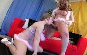 Vicki Richeter and Danielle Foxxx