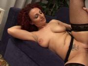 Sexy redhead mature Hot busty mom