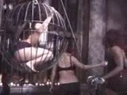 Group Bondage and a Cage