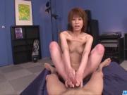 Amazing Rei Sasaki rides and sucks like a goddess