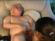 Ebony Riding Old Dirty Grandpa #GrandpaDidn'tCum