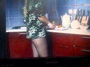 cooking in pantyhose 4