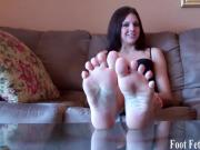 Pamper my perfectly pedicured feet