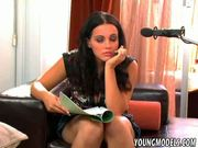 Sexy Brunette Teen gets her Pussy Licked & Fucked