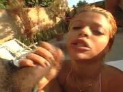 two brazilian chick get black dick