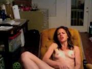Girl on cam masturbating
