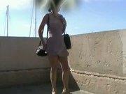 Windy Upskirt