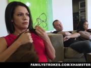 familyStrokes - Fucked not My bro On Movie Night