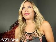 Hot blonde rides the Sybian