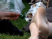 Nylon Soles in Park