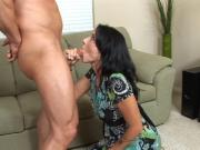 Beautiful MILF Zoe shows how she drains dick