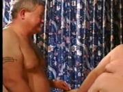 2 older men play