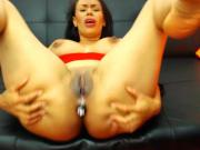 Horny Latina MILF with big tits & ass teasing for you