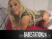 Hot German Babestation24 Babe gets naughty