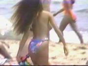 Topless Girl in the Beach - Voyeur