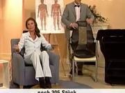 Live Orgasmus beim Teleshopping - Massagesitz