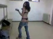 Ragazza ita rossella strip a scuola