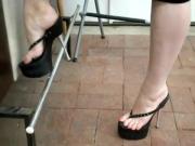 those heels drive me crazy