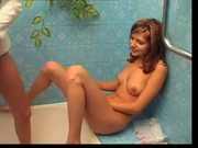 Hairy Russian Teen Bathroom by TROC
