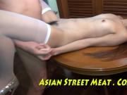 Pubic Hair Combed In Thai Beauty Parlour