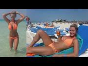 Sarka Kantorova Brassiere Buster Bikini Ass