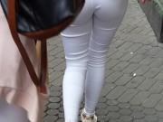 White jeans teen
