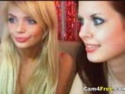 Hot Lesbians Fuck On Their Webcam