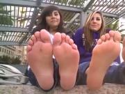 A great duo of feet