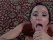Ariella Ferrera POV blowjob & cumshot