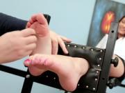 cute feetsies tickled