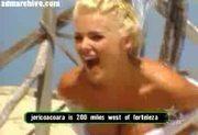 Victoria S. Shows Wet Boobs