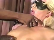 Black master's white slut