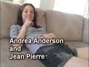 Andrea Anderson and Jean Pierre