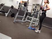 2 asses in leggings
