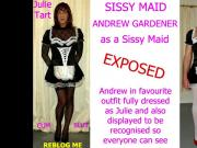 Andrew Gardener Sissy Slut Exposed