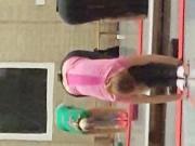 Voyeur gym girls