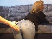 Disco Blue Jeans: Spanking