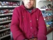 Hot Guy In A Store Stroking On Cam.