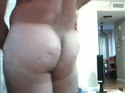 White Bottom Loves Getting Fucked Doggystyle with Big Dildo
