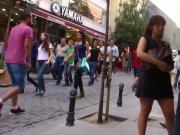 candid girl9 turkish skirt