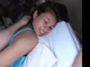 Cute petite asian girl fucked hard in a hotel