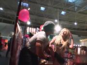 HOTGOLD Live Public Sex at Erotic Porto