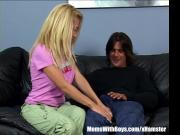 MILF Andrea Jaxxx Meets Up And Fucks A Biker