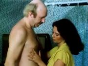 hairy german girl with not his dad in old movie
