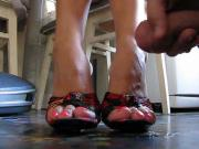 Cum on feet 2651