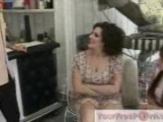 Mom Is Teaching Daughter How To Fuck A Cock Part1