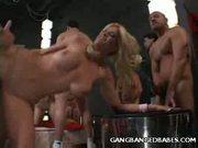 Blonde Brooke Gang Banged