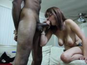 Big black cock for young lady