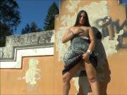 Milas wild public flashing and amateur latinas outdoor exhib